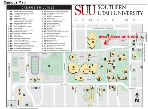 Group Run Saturday, March 24, 10:00 a.m. Meet at SUU PE building